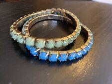 Fashion Bracelet Set Green & Blue