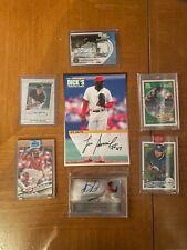 Major League Baseball Card Autos. You Choose.