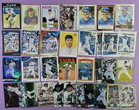ANTHONY RIZZO lot of 33 different cards 2021 2020 2019 Chicago Cubs