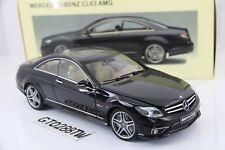 AUTOart 1:18 scale Mercedes-Benz CL63 AMG Coupe Black(C216) Leather Seats 76169