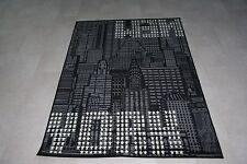 Quality Black Grey New York NYC Rug 150cm x 100cm New York NYC Rug Sky Line USA