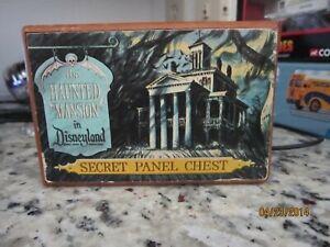 Disney Haunted Mansion Secret Panel Chest Rare!