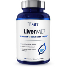 1MD LiverMD - Liver Cleanse Supplement Fast Shipment EXP 03/23