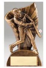 "Baseball, Male Flag Series Resin Award Trophy 6.5"" - Free Engraving"