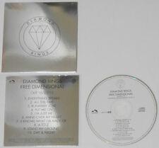 Diamond Rings  Free Dimensional  2012 U.S. promo CD   Rare!