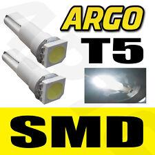 T5 286 LED SMD Weiß Armaturenbrett Glühbirnen Xenon HID 12V Licht Einsteller
