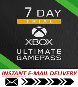 XBOX Live Gold Game Pass Ultimate NOT 14 Day Only 1 Week Trial - CAN BE STACKED