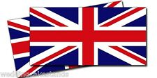 GREAT BRITAIN 5inch BRITISH UNION JACK FLAGS VINYL DECAL BUMPER STICKERS  2 Pack