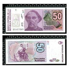 Argentine : 50 Australes 1986 Non circulé / UNC