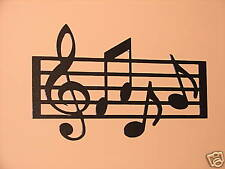 Metal Wall Art Home Decor Musick Notes Note Musical