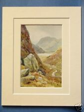 KIRKSTONE PASS BROTHERS WATER LAKE DISTRICT VINTAGE PIC
