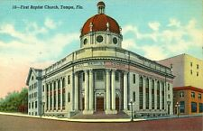Tampa,Fl. The First Baptist Church