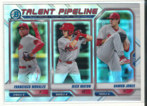 2021 Bowman Chrome TP-PHI Philadelphia Phillies Talent Pipeline
