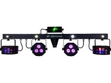 JB Systems - LED Party Bar - 2 Derbys + 2 Spots + 4 Strobes + Laser + Case