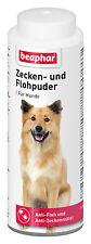 Beaphar ZECKEN- und FLOHPUDER für Hunde gegen Zecken und Flöhe 100g