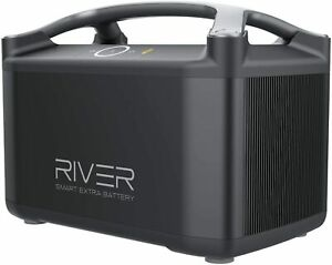 ⚡EF ECOFLOW RIVER EXTRA BATTERY for river Solar Generator Power Station 720Wh