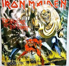 IRON MAIDEN The Number of The Beast HUGE 4X4 BANNER poster tapestry cd album