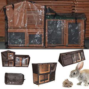 uk Rabbit Cage Cover Rabbit Hutch Run Cage Cover Pet Ferret Cage Cover Garden