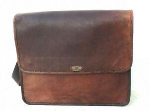 Bag Goat Leather Vintage Hlaf Flap Messenger Shoulder New Women Purse Handmade