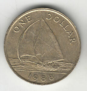 BERMUDA $1 1988 YACHT               51P          BY COINMOUNTAIN