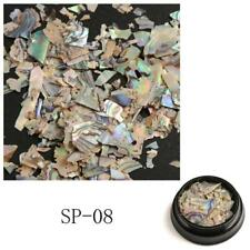 1box Colorful Nail Art Decor Sequins Abalone Shell Fragments 3d Glitter DIY Sp-08