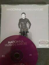 MADONNA - HUMAN NATURE - UK CD SINGLE