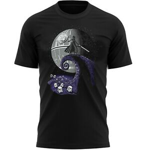 Nightmare Before Star Wars Horror T-Shirt Adults Novelty Shirt Top Gift For Men