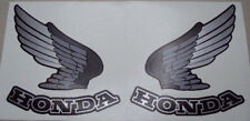 NEW! 1987 VF700C Honda Super Magna Stock BLUE Tank Decals (2)