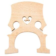 1/8 Upright Double Bass Separate Bridge Maple Wood Bridge Bass Accessories