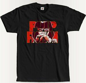 Mia Wallace Pulp Fiction Retro Weiß Navy Schwarz t-shirt  S - 5XL