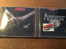 Accept [2 CD Alben]  Objection Overruled + BEST OF ( West Germany )