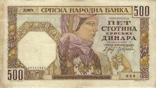 Ro.605a Besetzung Serbien 500 Dinara 1941 (3)