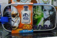 Star Wars Guerre Stellari profumo bambino e astuccio set regalo gift Natale