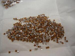 144 swarovski square shape stones,3mm crystal #4401