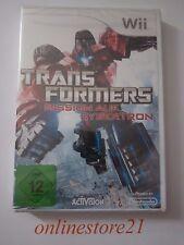 Transformers Mission auf Cybertron Nintendo Wii NEU  Komplett in Deutsch