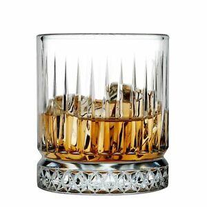 NEW PASABAHCE ELYSIA WHISKY TUMBLER 355ml Whiskey Crystal Scotch Glasses