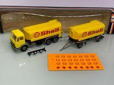 Herpa 806372 Shell MB NG Benzintank HZ in OVP 7345