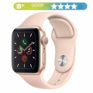 Apple Watch Series 5 44mm   Cellular GPS WiFi Bluetooth   Gold Pink Sand