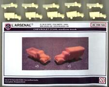 L'Arsenal Models 1/350 CHEVROLET CC60L MEDIUM TRUCK SET (10) Resin Set