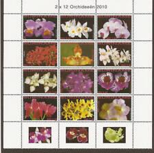 Surinam / Suriname 2010 Orchidee Orchid MNH tab