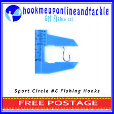 50 x #6 Octopus Sport Circle Fishing Hooks Sport Tackle Bulk Octopus Beak