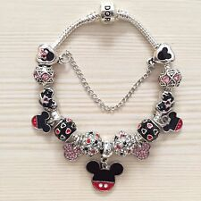 Disney Mickey Mouse Pandora Charm Bracelet & Charms Ideal Mothers Day Gift