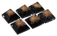 générateur d'énergiele du pierres  du pyramide orgone pierre tourmaline noire