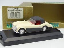 Velocidad 1/43 - Austin Healey 100 /6 Blanco y negro 1959