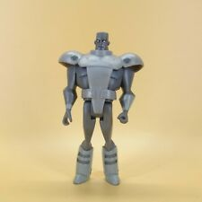 """DC Steel John Henry Irons Justice League Unlimited 4"""" Scale Action Figure"""