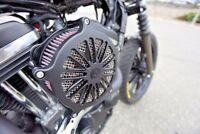 Air Cleaner Harley XL Sportster RSD  Venturi Boss Black Ops  0206-2041-SMB   HB