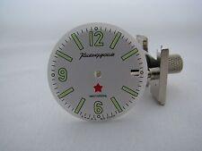 Clock. Dial. Watch Komandirskie. MO USSR. Chistopol Diameter - 29,60mm