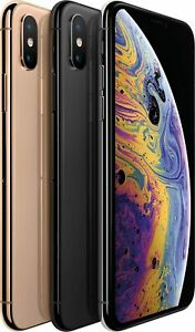 "APPLE iPhone Xs 64GB Dual SIM 5,8"" Display 12MP Kamera gold silber grau B-WARE"