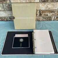 "IBM Microsoft DOS Version 1.10 5.25"" Floppy Manual 2nd Edition 1982 PC Computer"