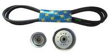 "Idler Pulley Kit with 48"" Deck Belt Fits John Deere E140 E150 E160 E170"